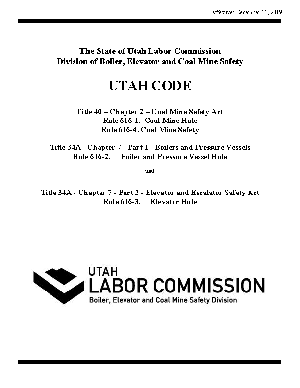 Division Statutes and Rules