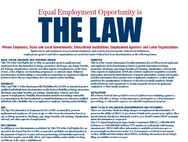 Federal Equal Employment Opportunity