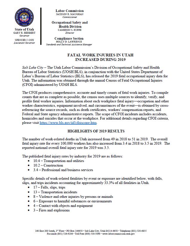 CFOI INJURIES 12/23/2020